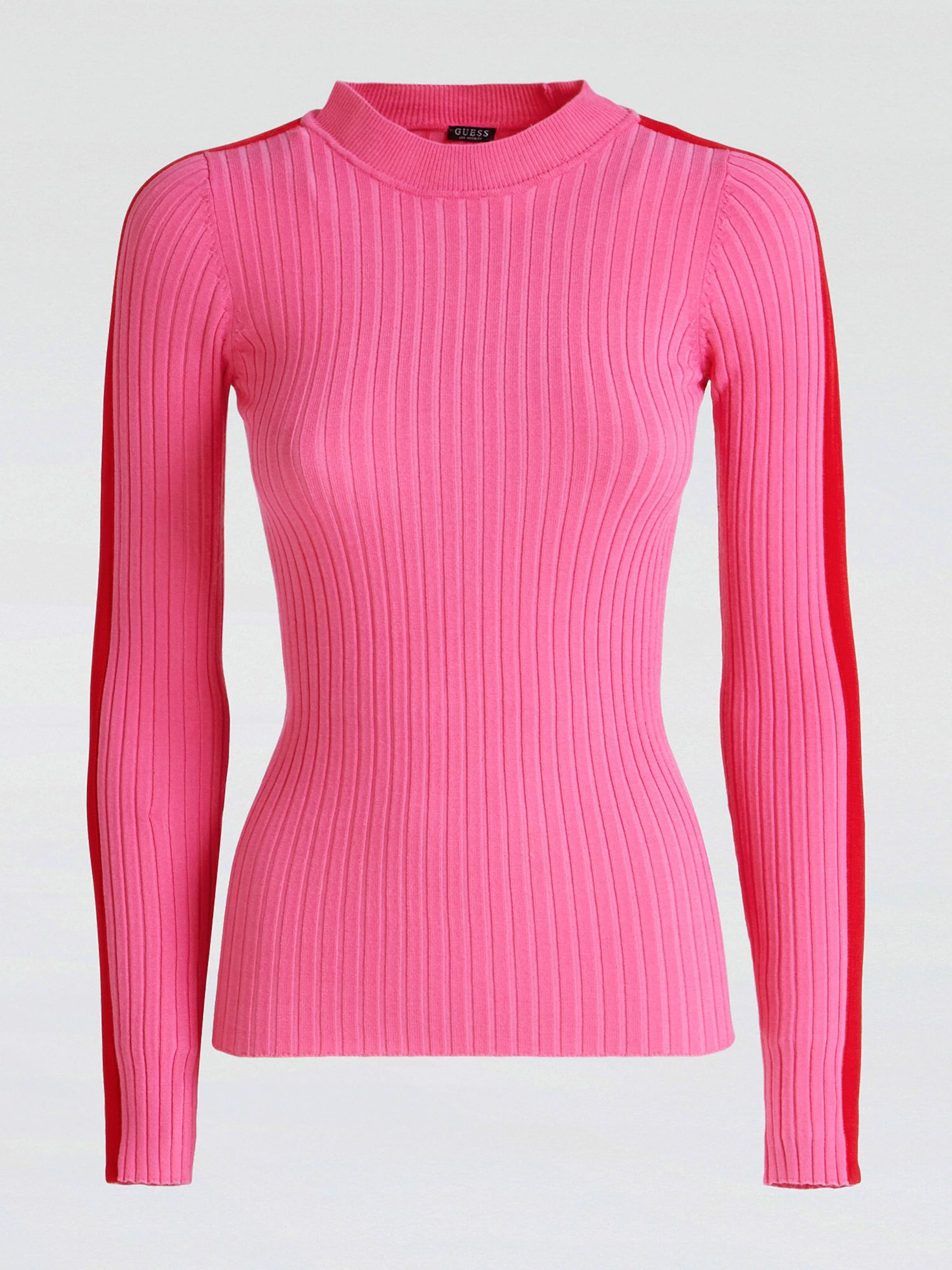 In In PinkRot Guess Pullover Guess PinkRot Guess Pullover In PinkRot Guess Pullover 8OmNwnv0