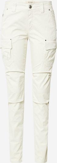 MOS MOSH Cargobroek 'Cheryl Cargo Reunion Pant' in de kleur Wit, Productweergave