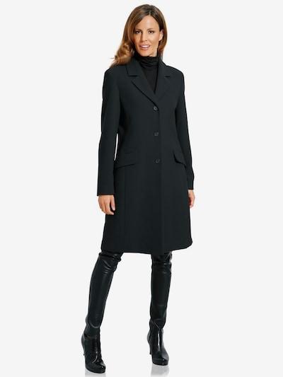 heine Kurzmantel in schwarz, Modelansicht