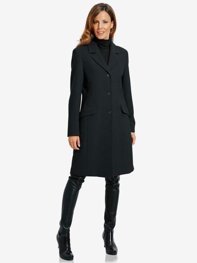 heine Tussenmantel in de kleur Zwart, Modelweergave