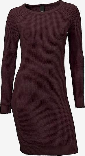 heine Pletena obleka | bordo barva, Prikaz izdelka
