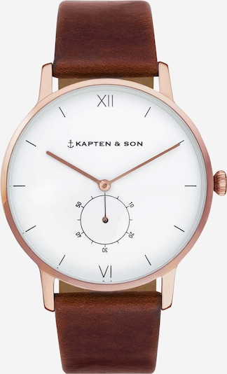 Kapten & Son Analog watch 'Heritage' in brown, Item view