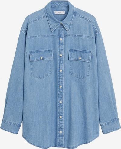 MANGO Jeanshemd 'Mireia' in blue denim, Produktansicht