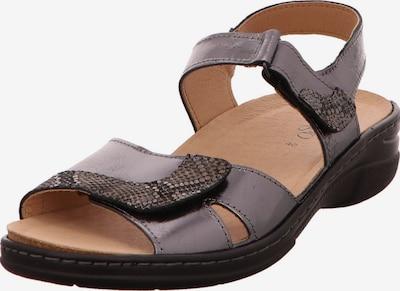 Longo Sandale in beige / braun / hellgrau, Produktansicht
