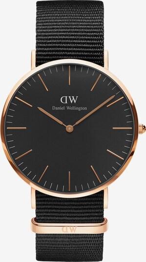 Daniel Wellington Uhren in rosegold / schwarz, Produktansicht