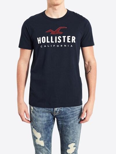 HOLLISTER Shirt 'SS CORE TECH' in navy: Frontalansicht