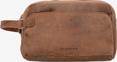 Harold's Kulturbeutel 'Antik' 26 cm in braun, Produktansicht