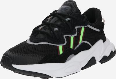 ADIDAS ORIGINALS Ozweego Sportmode Sneakers Schuhe in neongrün / schwarz, Produktansicht