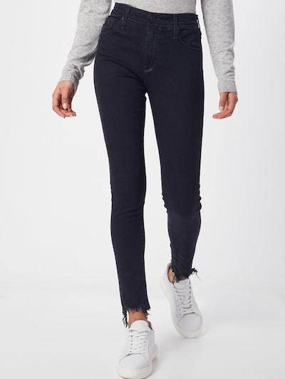 AG Jeans Jeans 'FARRAH SKINNY ANKLE' in black denim, Modelansicht