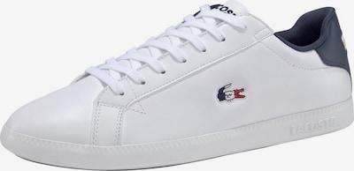 LACOSTE Sneaker in dunkelblau / weiß, Produktansicht