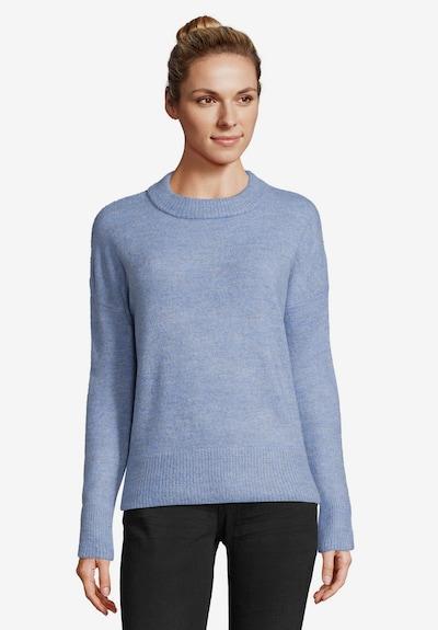Betty & Co Strickpullover in blau: Frontalansicht