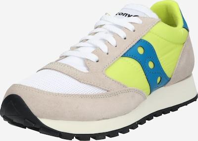 saucony Sneakers 'JAZZ ORIGINAL VINTAGE' in beige / neongelb / weiß, Produktansicht