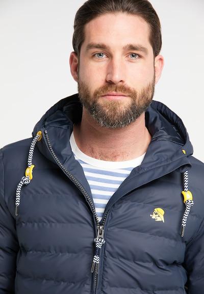 Schmuddelwedda Functionele jas in de kleur Blauw: Vooraanzicht