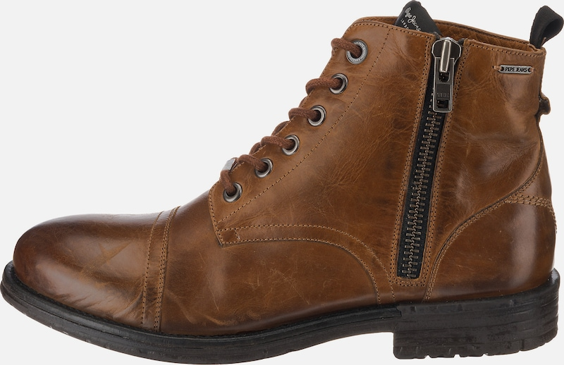 Pepe Jeans Jeans Jeans Schnürstiefel 'Tom-Cut Med Boot' f95aa4