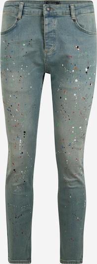 SikSilk Jeans 'Steve Aoki' in hellblau / mischfarben: Frontalansicht