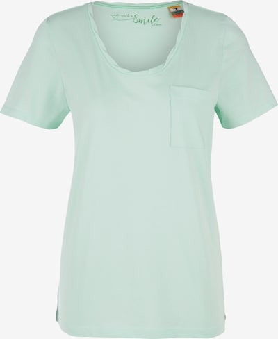 s.Oliver T-Shirt in mint: Frontalansicht