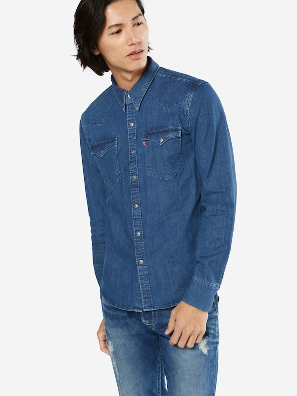 Levis Jeanshemd Barstow Western