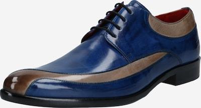 MELVIN & HAMILTON Šněrovací boty 'Toni' - námořnická modř / šedobéžová, Produkt