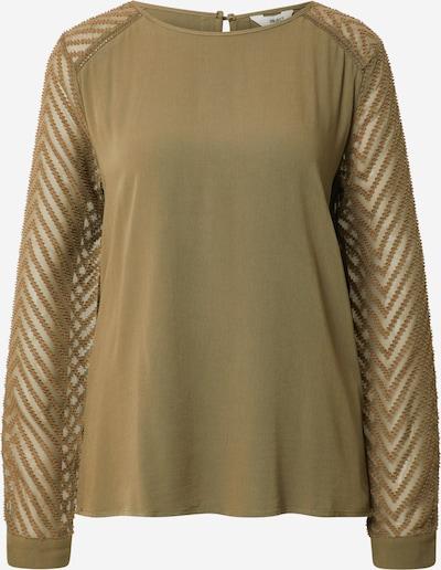 OBJECT Bluza 'Zoe' | oliva barva, Prikaz izdelka