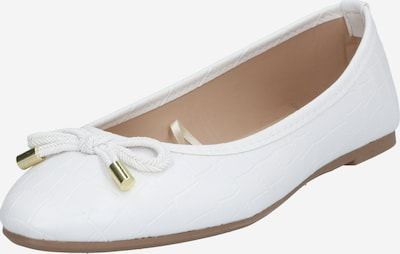 Dorothy Perkins Ballerinas in weiß, Produktansicht