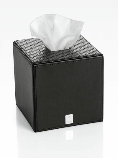 JOOP! Papiertuchbox 'BATHLINE' in schwarz, Produktansicht