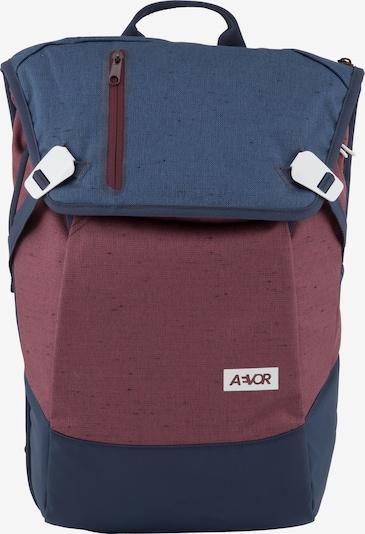 AEVOR Tagesrucksack 'Daypack' in navy / rot, Produktansicht
