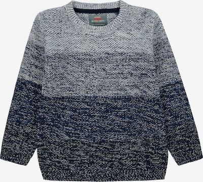 KANZ Pullover in blau / grau, Produktansicht