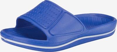 BECK Badelatschen in blau / weiß, Produktansicht