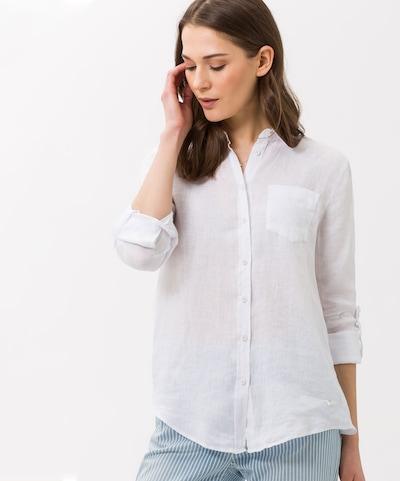BRAX Bluse 'Victoria' in weiß, Modelansicht