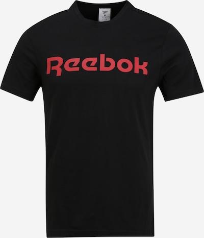 REEBOK Shirt  'GS Reebok Linear Re' in rot / schwarz, Produktansicht