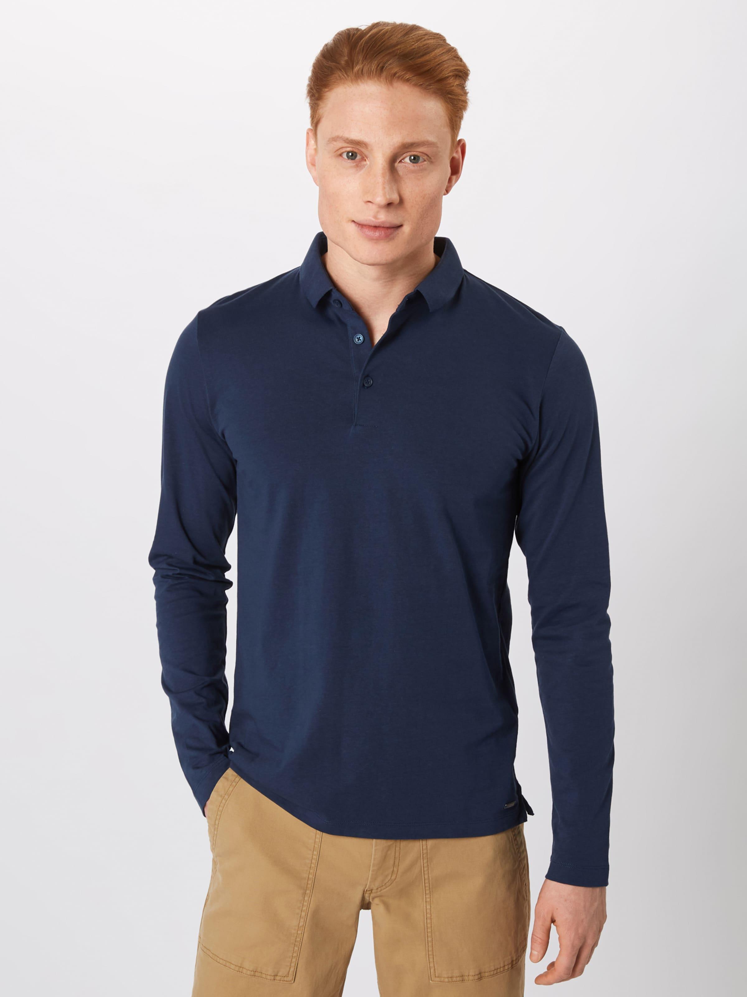 shirt En Foncé Esprit Bleu T HIED92