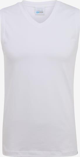 SCHIESSER Unterhemd in weiß: Frontalansicht