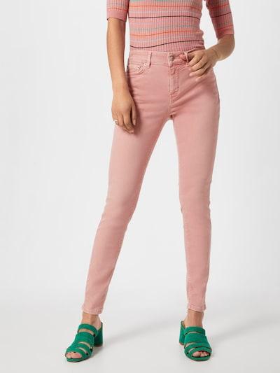 DRYKORN Jeans 'NEED' in altrosa, Modelansicht