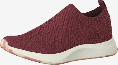TAMARIS Sneakers laag in de kleur Bordeaux: Vooraanzicht