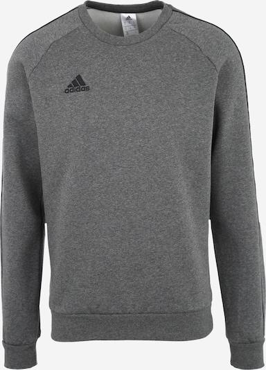 ADIDAS PERFORMANCE Sweatshirt 'CORE18 TOP' in anthrazit / graumeliert: Frontalansicht