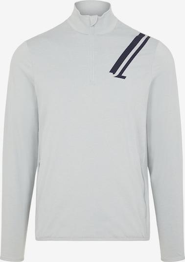 J.Lindeberg Functioneel shirt 'Jello Quarter Zip' in de kleur Lichtgrijs, Productweergave