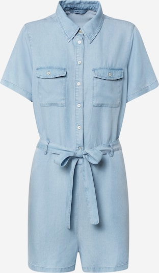 ONLY Playsuit  'ONLMIRANDA' in blue denim, Produktansicht