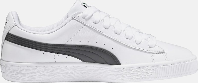 eeb4e166cd3 PUMA Sneakers laag 'Basket Classic LFS' in Antraciet / Wit | ABOUT YOU