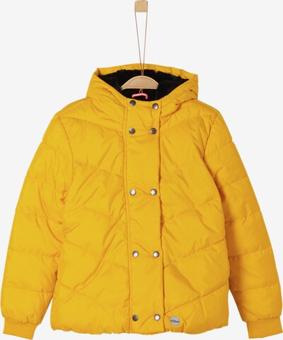 s.Oliver Winterjacke in gelb, Produktansicht
