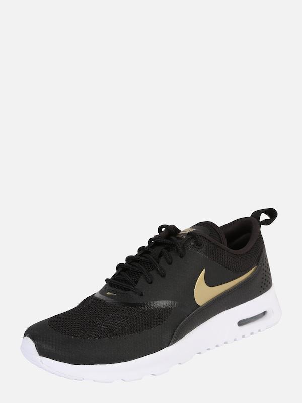 quality design de018 cb290 Nike Sportswear Sneakers laag  AIR MAX THEA J  in Goud   Zwart   ABOUT YOU