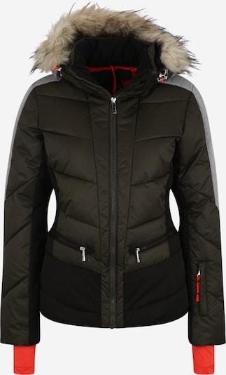 ICEPEAK Športna jakna 'Electra' | siva / temno zelena barva, Prikaz izdelka