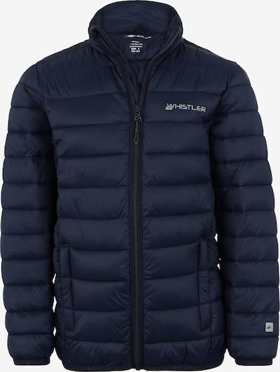 Whistler Jacke in dunkelblau / hellgrau, Produktansicht