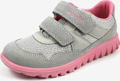 SUPERFIT Halbschuhe in grau / rosa, Produktansicht