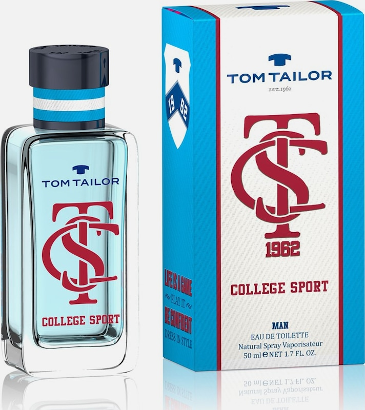 TOM TAILOR 'College Sport Man' Eau de Toilette