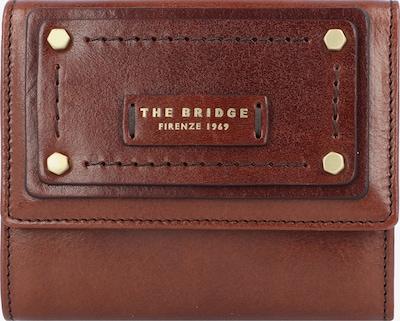 The Bridge Porte-monnaies en marron: Vue de face