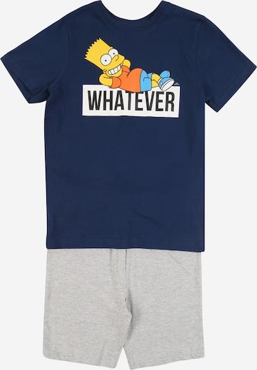 Pijamale STACCATO pe albastru / gri, Vizualizare produs