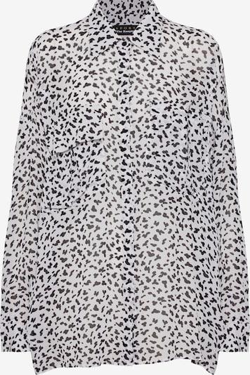 THE KOOPLES SPORT Bluse 'FCCL18073S' in schwarz / weiß, Produktansicht
