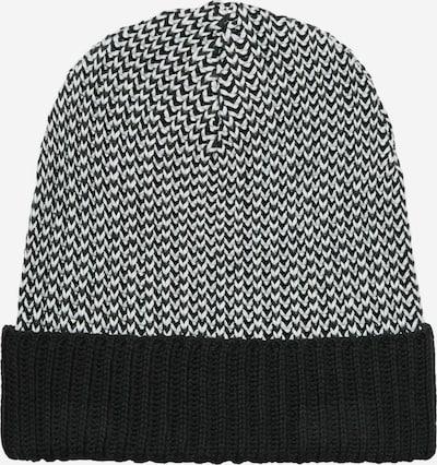 recolution Beanie mit Hahnentritt-Muster in grau / schwarz, Produktansicht