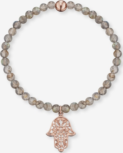 Engelsrufer Armband 'Hand Fatimas' in rosegold / stone, Produktansicht