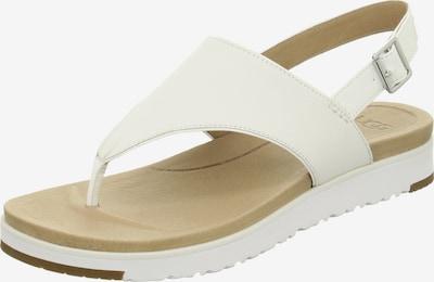 UGG Sandalen/Sandaletten in weiß, Produktansicht